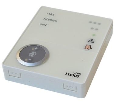 Flexit CI60 valdymo pultelis