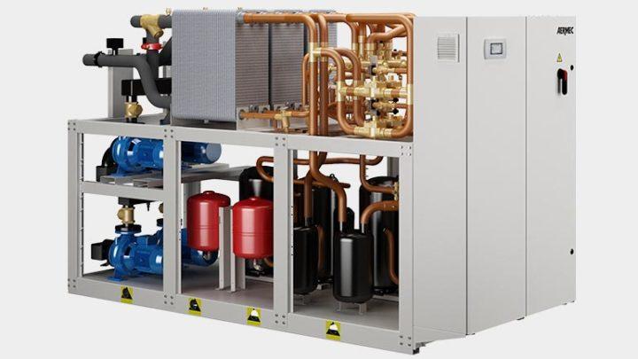Vandeniu aušinami daugiafunkciniai šilumos siurbliai NXP-H