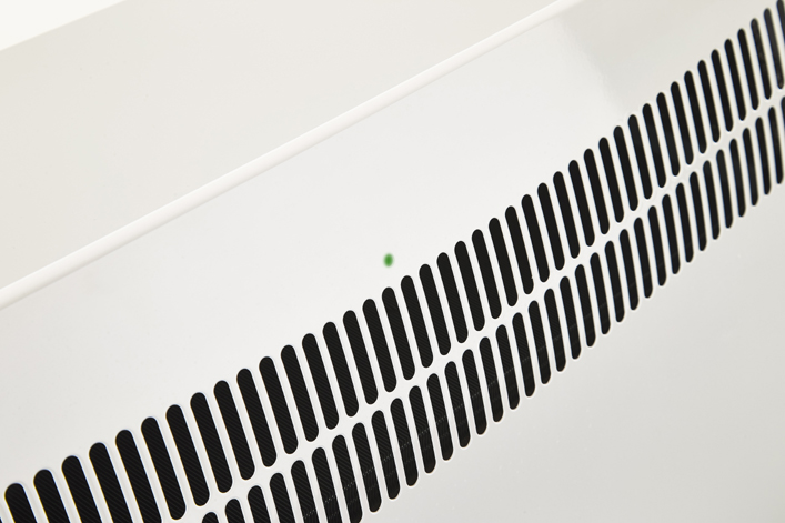Šviesos diodas priekinėje plokštėje