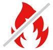 Mažesnis gaisro pavojus