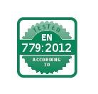 EN 779:2012 sertifikatas