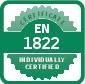 EN1822 sertifikatas