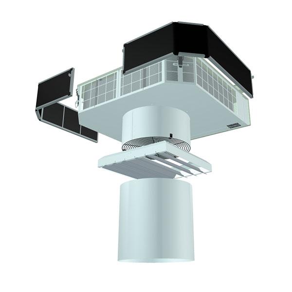 Ventiliatoriniai šildytuvai CAW 3D