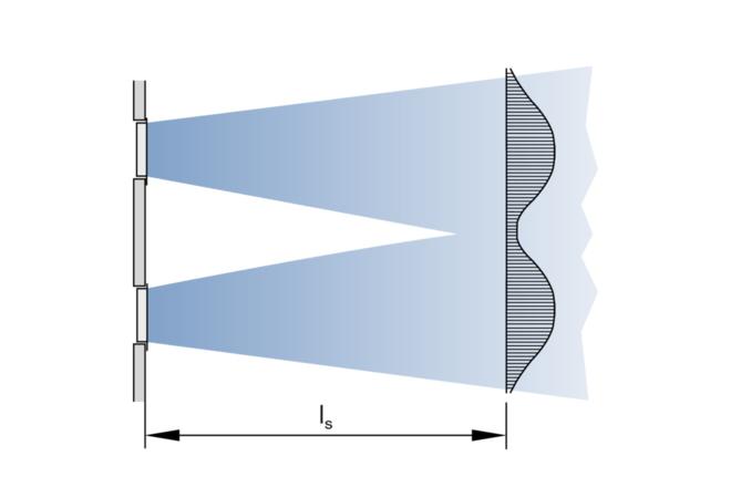 Oro srautas palubėj (vaizdas iš viršaus, daug grotelių)