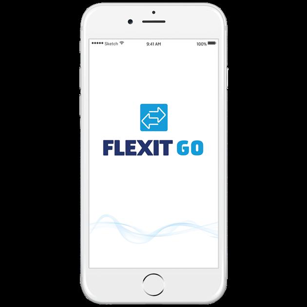 Mobilioji programėlė Flexit Go