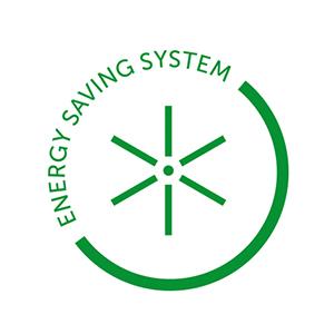 Energiją taupanti sistema