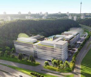 """Novatoriškas verslo parkas """"Business Garden Vilnius"""""""