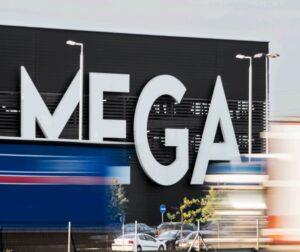 """Prekybos centras """"MEGA"""""""